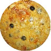 Pizza Roquefort de la pizzéria la Tour de Pizz à Bourg les Valence