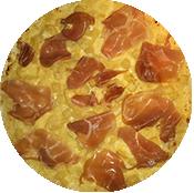 Pizza Tartiflette de la Pizzéria La Tour de Pizz à Bourg les Valence