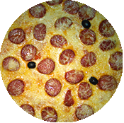 Pizza Soujouk de la Pizzéria la Tour de Pizz