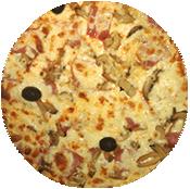 Pizza Capri de la Pizzéria la Tour de Pizz