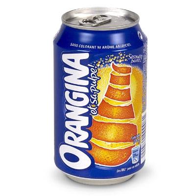 Cannette Orangina 33cl
