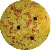 Pizza Savoyarde de la Pizzeria La Tour de Pizz à Bourg les Valence