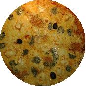 Pizza 4 fromages tomate de la Pizzéria La Tour de Pizz à Bourg les Valence
