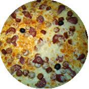 Pizza Spagnola de la Pizzéria la Tour de Pizz