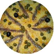 Pizza Sicilienne de la pizzeria La Tour de Pizz à Bourg Lès Valence