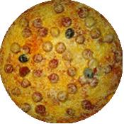 Pizza Merguez de la Pizzéria La Tour de Pizz à Bourg les Valence