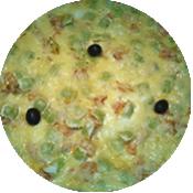 Pizza Ravioles Saumon de la Pizzéria La Tour de Pizz à Bourg les Valence