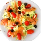 Salade Marine de la pizzeria la Tour de Pizz à Boug les Valence