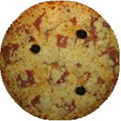 Pizza Milanaise de la pizzeria La Tour de Pizz à Bourg Lès Valence