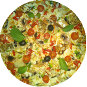 Pizza du Soleil de la pizzeria La Tour de Pizz à Bourg les Valence