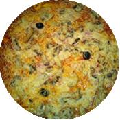 Pizza Royale de la Pizzéria La Tour de Pizz à Bourg les Valence