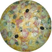 Pizza Vénitienne de la Pizzéria La Tour de Pizz à Bourg les Valence