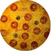 Pizza Chorizo de la pizzeria La Tour de Pizz à Bourg Lès Valence