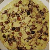 PIzza Festive de la pizzeria La Tour de Pizz à Bourg-les-Valence